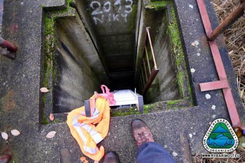 Oprava výpusti Pod lesíkem